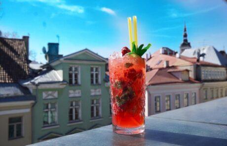 Katusekohvik, Tallinna parimad kokteilid