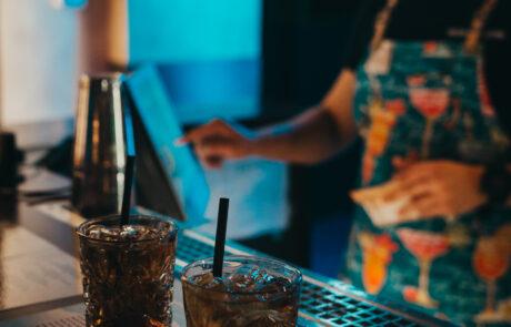 Katusekohvik cocktail bar in Tallinn