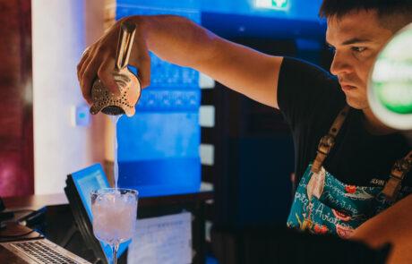Katusekohvik bar in Tallinn
