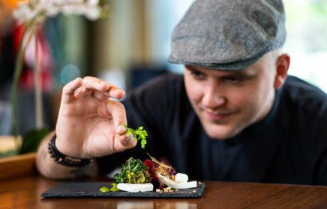 Chef Taavi Maiste Katusekohvik